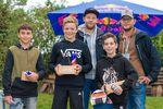 Die Gewinner der Amateurklasse des Woodstone-Contests 2018 im Skatepark Wendelstein