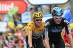Tour de France 2012 stage 17 (Bradley Wiggins & Chris Froome)