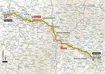 Tour de France 2017, 6. Etappe: Vesoul – Troyes. (Quelle: Geoatlas)