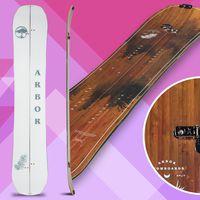 arbor swoon rocker, splitboard, snowboard