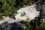 Felsiger Wallride in Whistler - Foto: Jannik Hammes