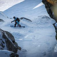Neuseeland, Line, Face, Snowboard, Siobhan Challis, Chev Challis, Freeride, FWQ, Freeride World Tour, In Your Face