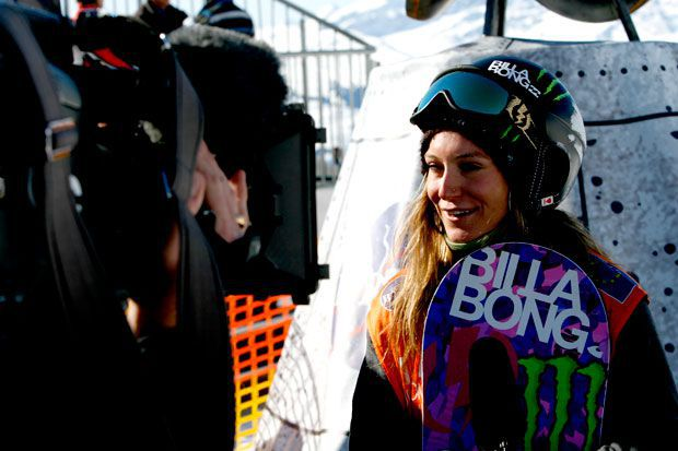 Jamie Anderson im Interview