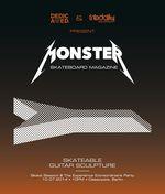 Monster Skateboard Magazine skateable Guitar