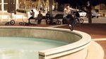Balanceübungen vom Feinsten: Tom Villarreal hat ein unterhaltsames Video gefilmt, in dem er fast ausschließlich auf einem Rad unterwegs ist.