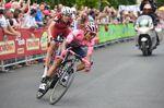 Quintana hat das maglia rosa erflogreich verteidigt - aber Dumoulin ist ihm bedrohlich nah. (Bild: Sirotti)