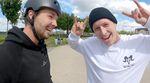 RAW JIBS! Alex Stinshoff und Tobias Freigang zerlegen den Rheinpark Duisburg und danach geht es für einen Absacker noch nach Mülheim.