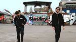 Teamwork aus Köln: Die SIBMX-Teamfahrer Lukas Häusler und Robin Heidereich sliden in ihrem Splitedit für Sunday Bikes kreuz und quer durch die Domstadt.