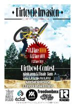 Dirtcycle Invasion Flyer