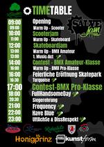 Der Zeitplan für den Salvejam 2019 auf dem Rideplatz Rathenow