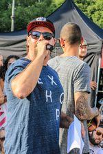 MC Pullich auf dem EX&HOP Contest Streetlife Festival 2016 in München