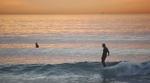 San Onofre Santa Anas perfekt für Longboards