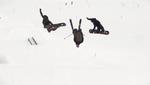 Teamaction im Snowpark Kaunertal.