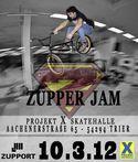Zupper Jam 2012 Projekt X Skatehalle Trier Flyer