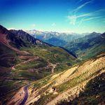 Die Aussicht vom Col du Tourmalet ist traumhaft.