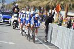 Quick-Step Floors sollte nicht unterschätzt werden. Beim Tirreno - Adriatico wurde das Team zweiter hinter BMC (Foto: Sirotti)