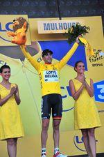 Das Gelbe Trikot geht an einen Franzosen. (Foto: Sirotti)