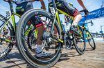 Die drei hauptsächlichen Faktoren, wegen denen Fahrer sich für einen Satz Carbonlaufräder entscheiden, sind das leichte Gewicht, die aerodynamischen Eigenschaften und das coole Aussehen. (Foto: Nils Nielsen)