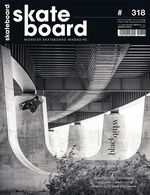 Monster Skateboard Magazine #318 Black & White Issue
