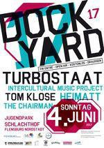 Beim Dockyard-Musikfestival in Flensburg tritt unter anderem Turbostaat auf