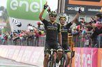 Erfolg im Doppelpack für Mitchelton-Scott: Esteban Chaves gewinnt die 6. Etappe des Giro d