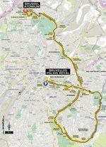 Die zweite Etappe der 106. Tour de France wird ein Mannschaftszeitfahren in Brüssel werden.