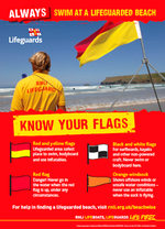 Surf Safety: RNLI lifeguard flags