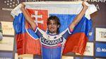 Peter Sagan kurz nach dem Gewinn der Weltmeisterschaft in Richmond 2015. (pic: Sirotti)
