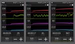 Die Tacx Cycling App liefert auch auf dem Smartphone Daten und Informationen zur Leistung. (Foto: Tacx)
