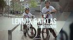 Lennox und Niklas Zimmermann sind nicht nur Brüder, sondern auch beide für Bikers Base Clothing unterwegs. Hier ist ihr Welcome-Edit aus dem Kesselbrink.
