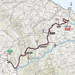 Auf der 11. Etappe des Giro d