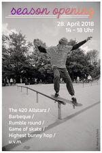 Am 28. April wird im Skatepark Mülheim die Outdoorsaison mit einem BMX- und Skate-Jam eröffnet. Weitere Informationen dazu gibt es hier.