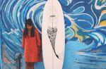 Chanti Mai Surfboard Art Design Indonesia 6