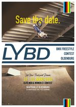 Live your backyard dreams! Vom 21.-22. März 2020 findet in der Skatehalle Oldenburg die 2. Auflage des LYBD UCI BMX Park C1 Contests statt.