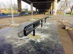 das neue Flatrail im Skatepark Leverkusen