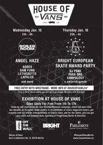 House of Vans 2014 Bright Berlin