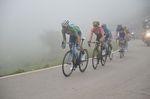 Für die Hauptfavoriten der Gesamtwertung ging es auf den steilen Hängen des Zielanstieges um jede Sekunde. (Foto: Sirotti)