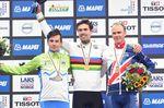 Tom Dumoulin (Niederlande) gewinnt die Weltmeisterschaft im Einzelzeitfahren in Bergen, Norwegen. (Foto: Sirotti)
