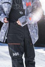 Die Helly Hansen Garibaldi Pant lässt sich dank Klettverschluss am Bund regulieren.