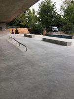Streetfläche im Skatepark Friedrichshafen