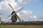 Windmühlen und flache Streckenabschnitte prägen den Klassiker Amstel Gold. (Foto: Sirotti)