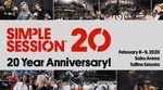 Die Simple Session, der größte und wahrscheinlich auch wichtigste BMX-Indoorcontest der Welt, feiert vom 6.-11.2.2020 seinen 20. Geburtstag!