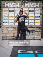 Der Best-Trick-Gewinner von BMX Lake Line beim MASH 2019 heißt Andy Buckworth