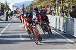 BMC ist eine starke Mannschaft im Zeitfahren und gewannen den Auftakt beim Tirreno - Adriatico 2017 (Foto: Sirotti)