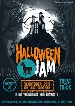 Am 31. Oktober 2017 findet zum ersten Mal ein Halloween Jam in der Reithalle Ulm statt und wer verkleidet erscheint, muss keinen Eintritt zahlen!