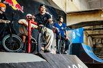 Miguel Smajli fuhr das ganze Woche über nicht nur richtig gut Fahrrad, sondern stand am Samstagabend auch noch auf der Aftershowparty auf der Bühne, um ein paar Bars zu spitten