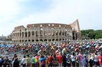Rom bot den Schauplatz für das Rundenrennen der letzten Etappe des diesjährigen Giro d