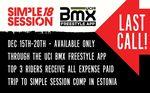 Bewirb dich jetzt über die UCI BMX Freestyle Park App für die Simple Session 2018