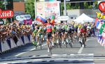 11. Etappe - Tony Gallopin (Lotto Bellisol) kommt mit einem knappen Vorsprung nach einer späten Attacke als Erster in Ziel in Oyonnax und holt sich seinen ersten Etappensieg. Zwei Tage zuvor hatte er schon einmal das Gelbe Trikot für einen Tag getragen. (Foto: Sirotti)