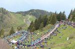 Monte Zoncolan war die Bühne für das Finale der ersten Bergetappe des Wochenendes und die Hauptattraktion der 14. Etappe. (Foto: Sirotti)
